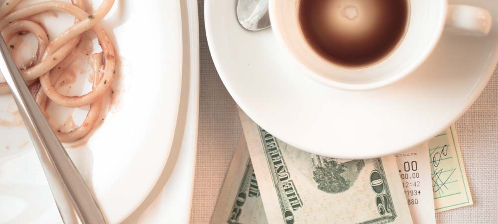 Restaurant Tips or Surcharges